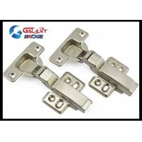 Buy cheap Stainless Steel Furniture Fittings Hardware , Soft Close Half Overlay Cabinet Hinges Hydralic Door Hinges from wholesalers