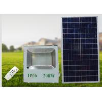 Buy cheap 200W Exterior Battery Solar Security Light / Solar Powered Outdoor Lights from wholesalers