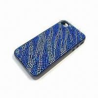 Buy cheap Crystal Diamond Case Cover with Unique Design, Suitable for iPhone 5 from wholesalers