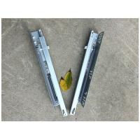 Buy cheap Sgs Test Concealed Undermount Soft Close Drawer Slides Telescopic Galvanized from wholesalers
