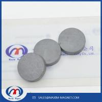 Buy cheap Ceramic Round Magnets Y30/Y35 grade from wholesalers