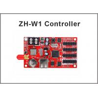 Buy cheap ZH-W1 wireless wifi LED Controller Card for Single,Dual,Full Color display modules U disk 32*1536,48*1024 pixels from wholesalers