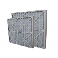 Buy cheap Precision Disposable Pleated Panel Electronic Furnace Air Filter Pre Filter from wholesalers