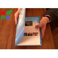 Buy cheap Rechargable LCD Video Greeting Card 128M Memory Motion Sensor Video Promotion Book from wholesalers