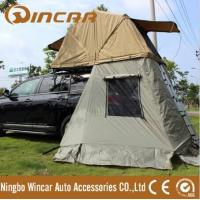 Buy cheap Auto camping roof tent use YKK zipper ripstop canvas roof top tent from Ningbo Wincar from wholesalers