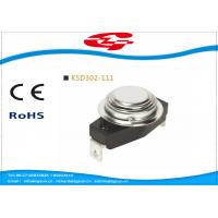 Buy cheap KSD302-111 Temperature Switch Thermostat , Bimetal Disc Thermostat Automatic product