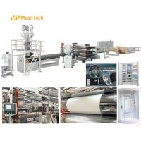 Buy cheap 450 - 750 Kg/Hour Capacity Plastic Sheet Extrusion Machine / Acrylic Sheet Making Machine from wholesalers
