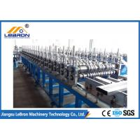 Buy cheap Mitsubishi PLC Control Cable Tray Roll Forming Machine Q235 Carbon Steel Strip Galvanized Strip from wholesalers