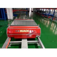 Buy cheap Red Automated Storage Retrieval System Dual Rail Annular Ferry Car Transmitting Pallets from wholesalers