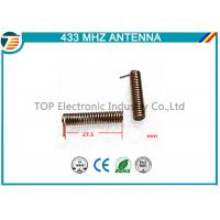 Buy cheap Long Range 433Mhz Antenna Wireless Communication PCB Antenna spring antenna small size from wholesalers
