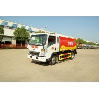 Buy cheap SINOTRUK Diesel Fuel Trailer , Fuel Storage Trailer Customized Capacity from wholesalers