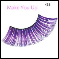 Buy cheap Self-adhesive Artificial Colorful Eyelashes Hot Sale Party Custom Eyelash Packaging from wholesalers