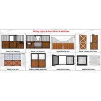 Buy cheap Prefab Pre Built Horse Stall Stable 3M Posh Prefabricated Steel Structure from wholesalers