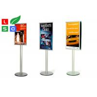 Buy cheap Freestanding Pole Trade Show Displays Snap Frame Durable Portable Sign Stands from wholesalers