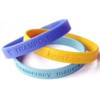 Buy cheap 2012 Fashion Customized Silicone Bracelet from wholesalers