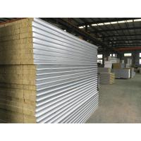Buy cheap Prefabricated Rockwool Structural Insulated Sandwich Panels For Walls Grade 1 from wholesalers