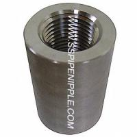 Buy cheap Forged Stainless Steel Coupling Equal Shape SS Pipe Fitting CL300 from wholesalers