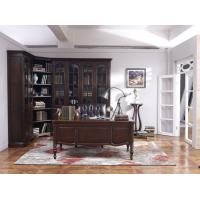 Buy cheap Home Office Study room furniture Wooden Reading Writing desk Computer table with Storage cabinet and Bookshelf cabinet from wholesalers