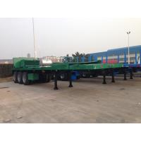 Buy cheap 40 feet Container Flat Bed  Semi-Trailer with Tail Cut for container shipment   9353TJZPQW from wholesalers