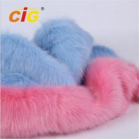Buy cheap 100% Polyester Upholstery Fur Artificial Fabric for Garment / Toy from wholesalers