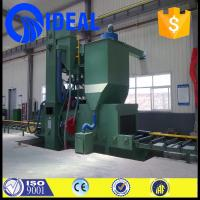 Buy cheap Abrasive/grits/sand/shot cleaning type tunnel type shot blasting machine from wholesalers