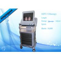 Buy cheap Skin tightening / lift Equipment HIFU Face Lifting Machine With Touch Screen from wholesalers