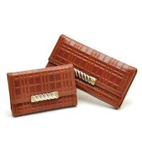 Buy cheap Clothing accessories stock-Lady's cow leather wallets from wholesalers