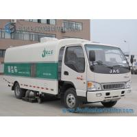 Buy cheap JAC 6M3 4 X 2 3000KG Street Sweeper Truck Reliable With 4 Cylinders from wholesalers