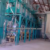 Buy cheap 30-50TPD maize grinding hammer mill / flour milling and packing machines / maize flour milling machines from wholesalers