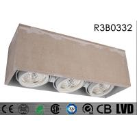 Buy cheap 2700K 24 Deg Aluminum Dimmable LED Recessed Downlights 480mA CE Approval from wholesalers