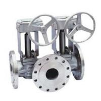 Buy cheap Single Or Double Flush Lubricated Plug Valve 3 Way 10 Inch 300lbs API 6D from wholesalers