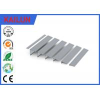 Buy cheap 2mm thick Aluminium Stair Nosing with Power Coating , 45 mm Aluminium Angle Strip from wholesalers