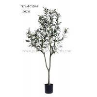 Buy cheap Premium Foliage Plastic Olive Tree Vibrant Color 200CM Thriving Plastic Pot Base from wholesalers
