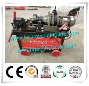 China Steel Bar Threading Machine , Steel Straight Thread Screw Rolling Machine on sale