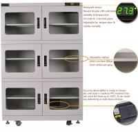 Buy cheap Industrial Digital Desiccant Cabinets Moisture Proof Box with 5 Shelves from wholesalers