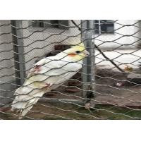 Buy cheap Flexible Stainless Steel Bird Mesh High Intensity 20mm - 200mm Aperture from wholesalers