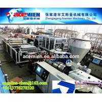 Buy cheap Plastic PVC wave roof tile/roofing sheet material extruder extruding machine equipment product