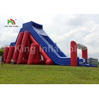 Buy cheap Colorful 25*10m Giant 5K Inflatable Sports Games / Commercial Inflatable Slide from wholesalers