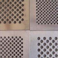Buy cheap Punching Hole Wire mesh|Called Perforated Metal With 60° Hole Arrangement from wholesalers
