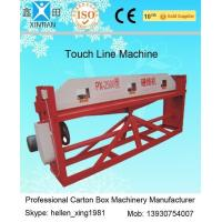 Buy cheap Cardboard Semi Auto Paper Carton Making Machine For Packaging / Printing Industrial from wholesalers