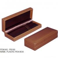 Buy cheap Plastic Pen Boxes wrapped in leather product