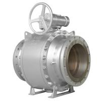 Buy cheap API6D FULL BORE BALL VALVE R-PTFE SEAT 150LB 14INCH BALL SS304 GEAR OPERATE from wholesalers
