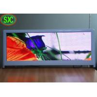 Buy cheap taxi roof outdoor full color p5 led advertising viewing screen with usb adopt wifi 3g control system from wholesalers