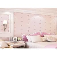 Buy cheap Lovely And Dreamlike Rose Childrens Bedroom Wallpaper Contemporary Romatic Style from wholesalers