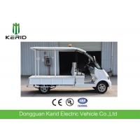 Buy cheap White Color 4kW Electric Sightseeing Car , Spacious 8 Seater Electric Car product