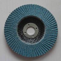 Buy cheap High Density Angle Grinder Abrasive Flap Disc Zirconia aluminium oxide Conical Fiberglass from wholesalers