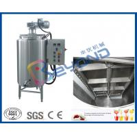 Buy cheap Electrical Control Chocolate Holding Tank , SUS304 Stainless Steel Food Grade Tank from wholesalers
