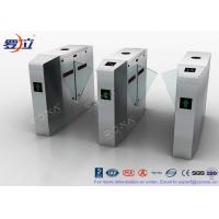 Buy cheap Metal Security Flap Barrier Gate  Access Control System With Fingerprint product