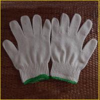 Buy cheap 500g 600g 700g neatural white cotton gloves for construction from wholesalers