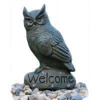 Buy cheap Cast Stand Up Owl Statue Water Fountains Indoor Outdoor OEM & ODM from wholesalers